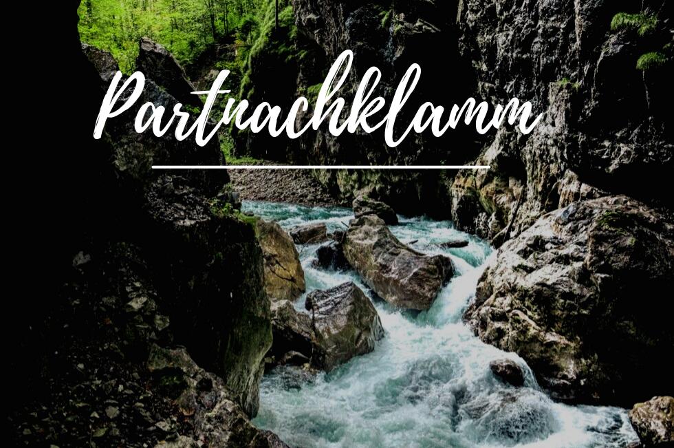 Partnachklamm in Garmisch-Partenkirchen