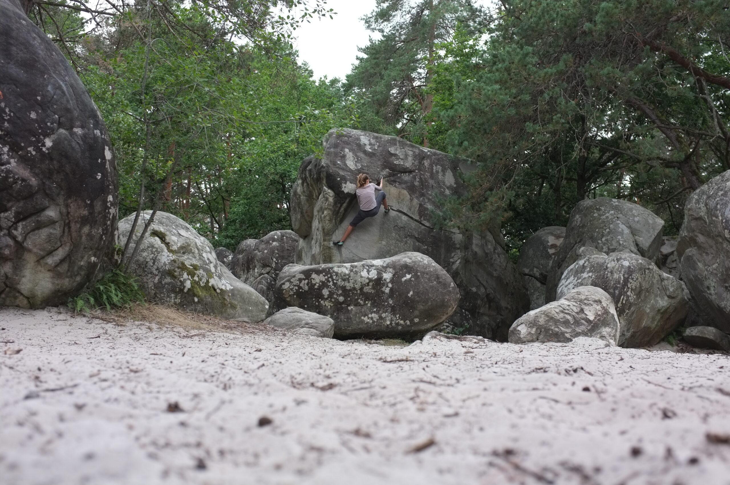 bouldergebiet fontainebleau