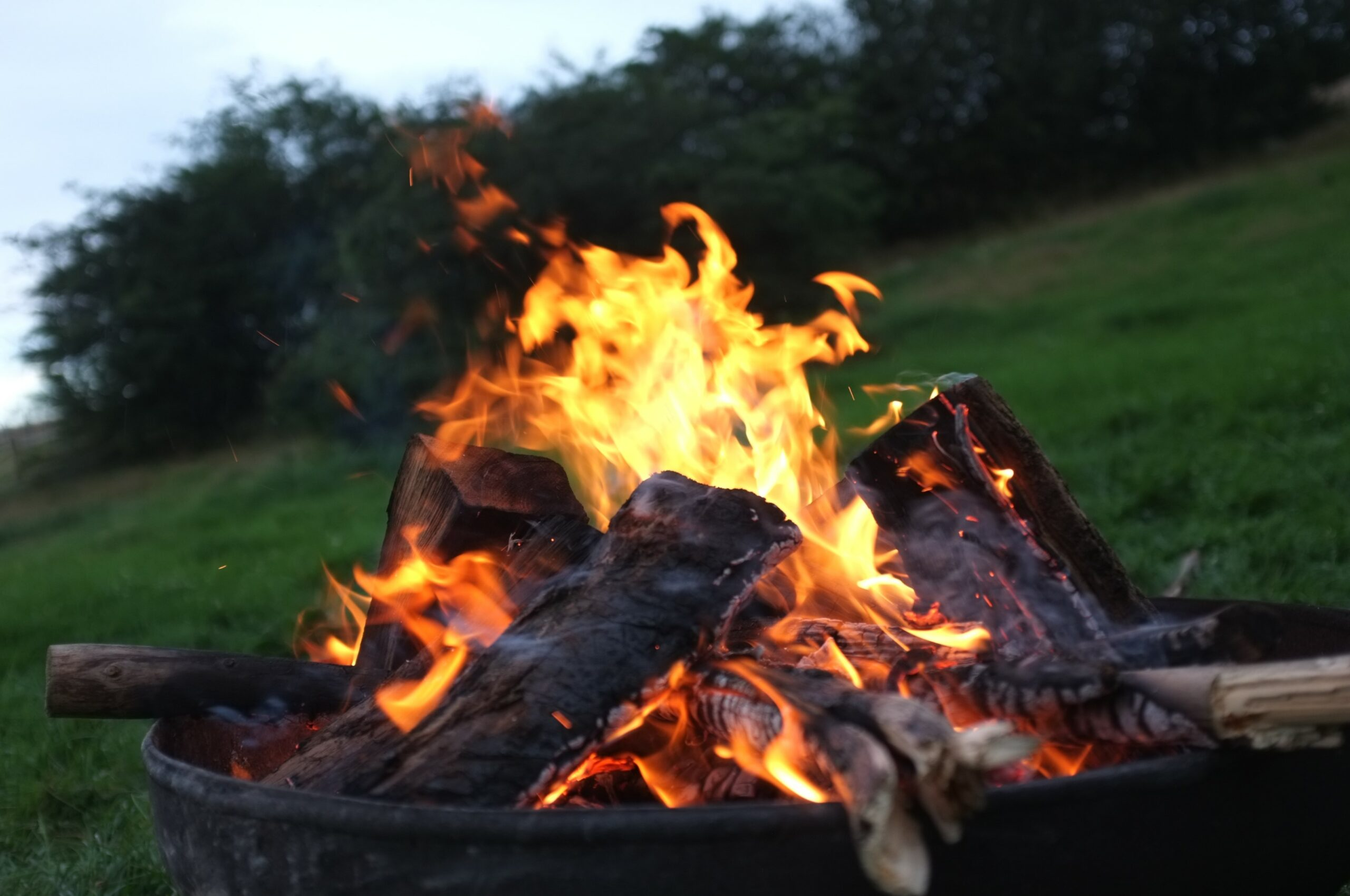 outdoor lagerfeuer