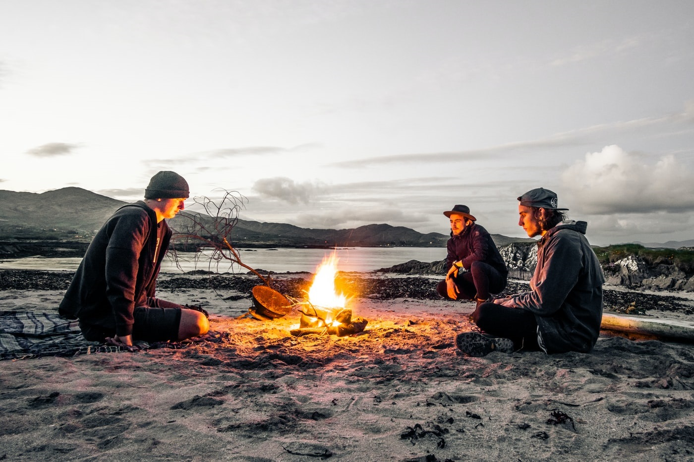 naturzeltplätze camping am strand