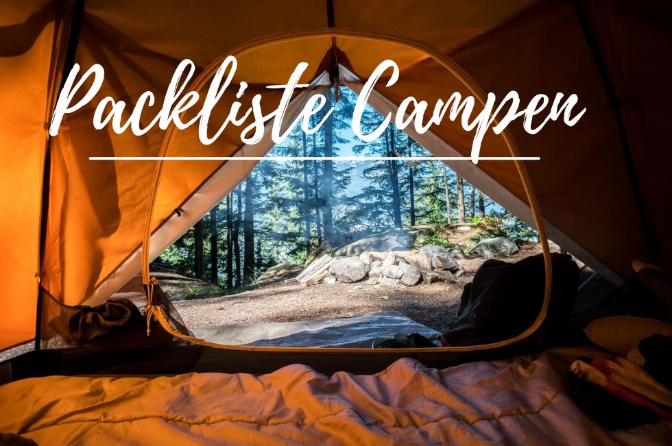 Packliste Campen – Was braucht man zum Campen